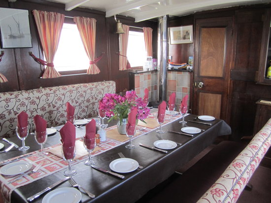 Orford, UK: Dining Room