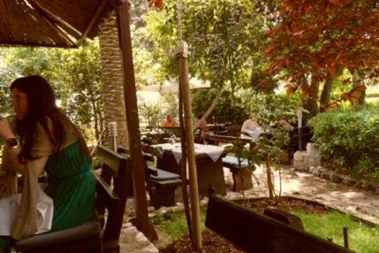 Hotel Baletna Skola: Konoba garden