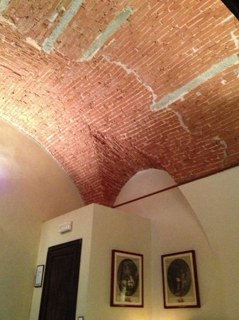 Accademia House : The Antiq room vaulted ceiling