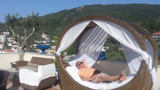 Hotel Aria: Njuter vid polkanten på min 70årsdag