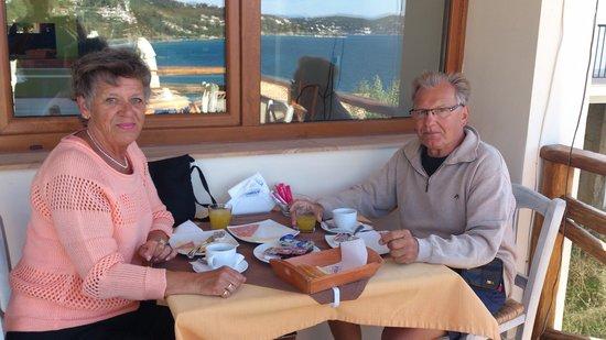 Hotel Aria: Frukosten, lite för enkel men kaffet var gott