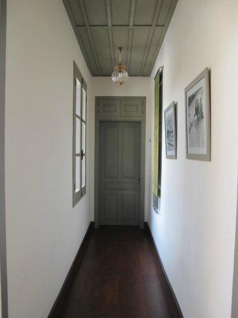 Satri House: Hallway