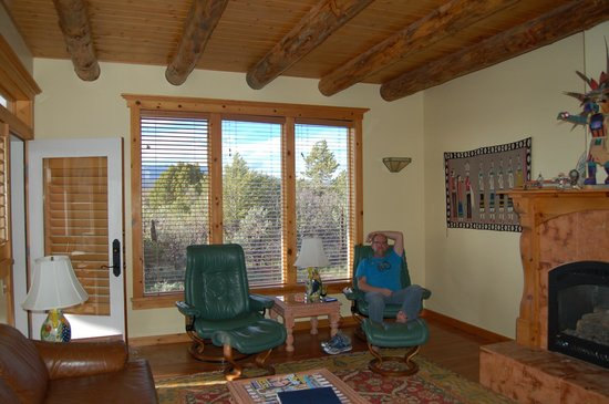 Blue Lake Ranch: Sunset Casita Living Room