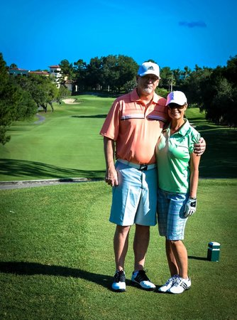 Mission Inn Resort & Club: One happy couple overlooking the 5th hole