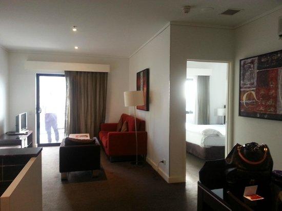 Adina Apartment Hotel Perth Barrack Plaza: View of the 2-bedroom apartment