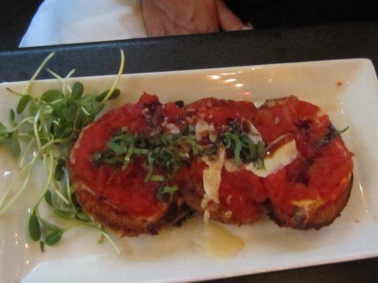 Basi Italia: Eggplant Parmesan