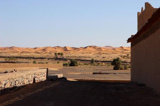 Vue de l'entrée de Dans les Dunes