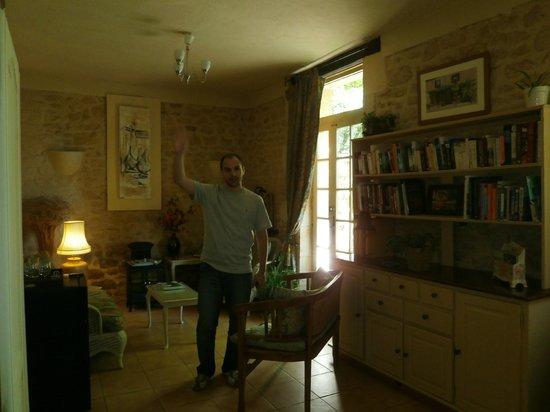 Le Jardin Sarlat: El guests lounge