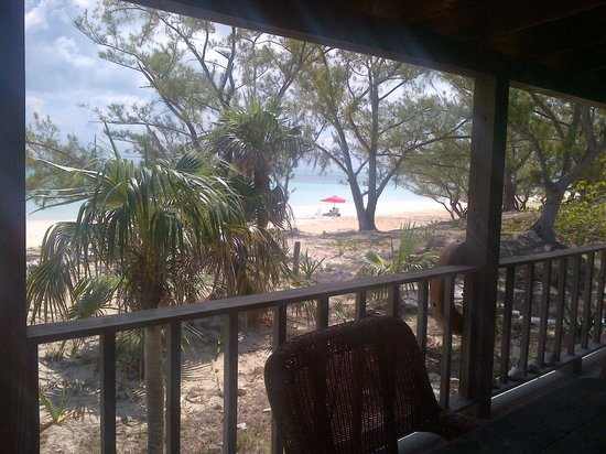 Pigeon Cay Beach Club: view from our room's porch