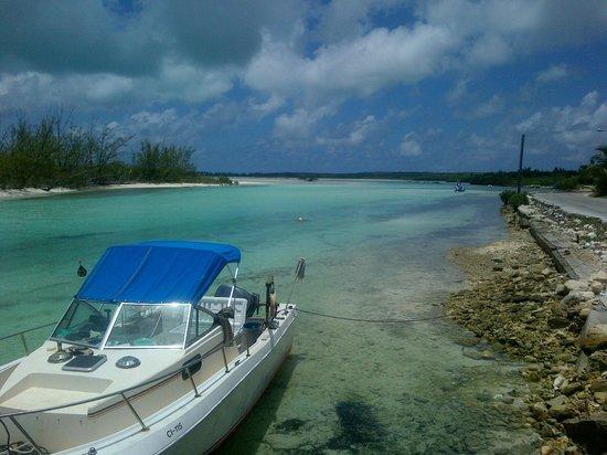 Pigeon Cay Beach Club: Orange Creek view