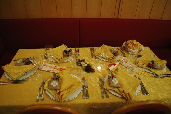 Hotel Terme Bormio: Buon Appetito!