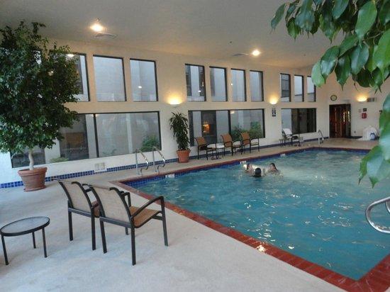 indoor pool picture of hampton inn st george st. Black Bedroom Furniture Sets. Home Design Ideas