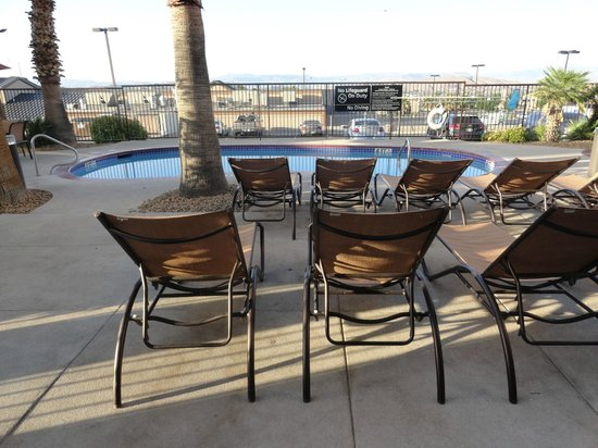 Hampton Inn St. George : Outdoor pool
