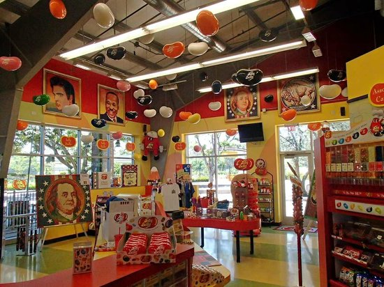 The Jelly Bean Store Very Colorful Picture Of Nut Tree