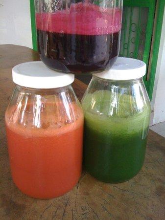 Samara Organics Mercado Organico: We jucie - full juice bar