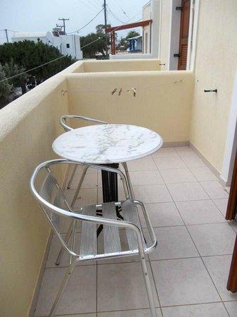 Roula Villa: Balcony view