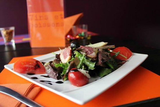 Restaurant Urbain IV : Try the fine salad