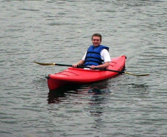 Fox Run Resort: Rent Kayaks from Rumbling Bald Activities Center.
