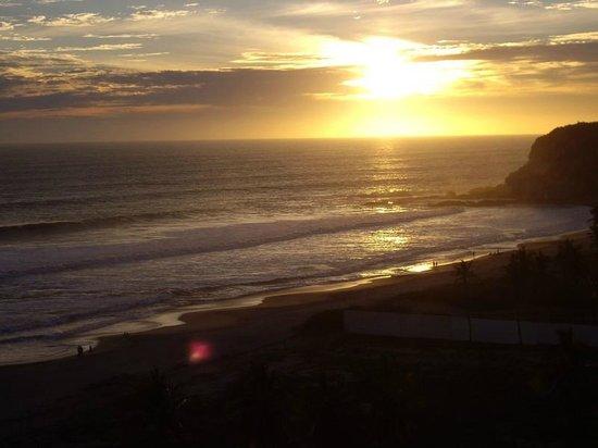 Hotel Riu Emerald Bay : sunset