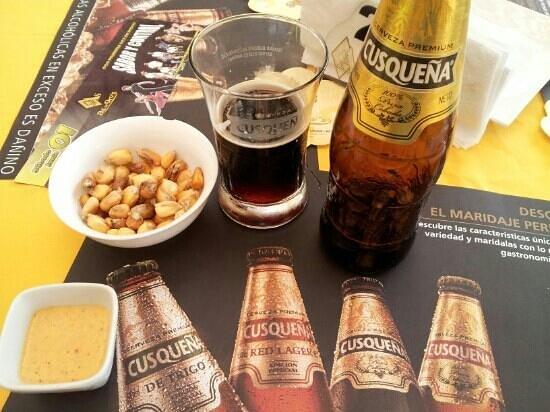 As de Oros : Cold beer