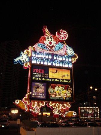 Outside Circus Circus