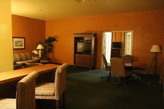 Hampton Inn & Suites New Orleans Convention Center: living room