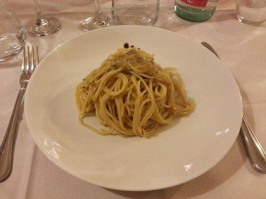 Ristorante Pizzeria TRE PERE: Spaghetti ai ricci di mare