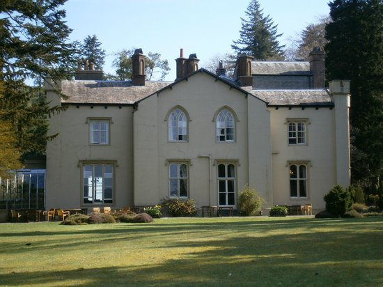 Monk Coniston: Main building seen from front