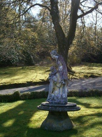 Monk Coniston: Statue in forecourt