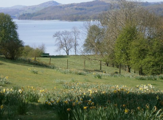 Monk Coniston: View from grounds
