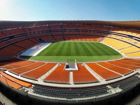 FNB Stadium: VIP lounge view