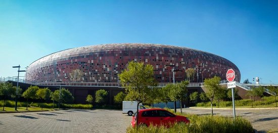 FNB Stadium: VIP Parking view