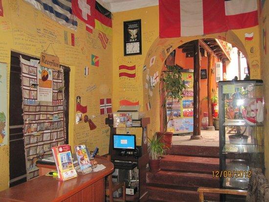 Marlon's House Cusco-Peru : Our Reception