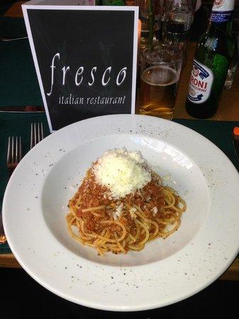 Fresco: Pasta al Ragu - Marco's family recipe of Spaghetti Bolognese