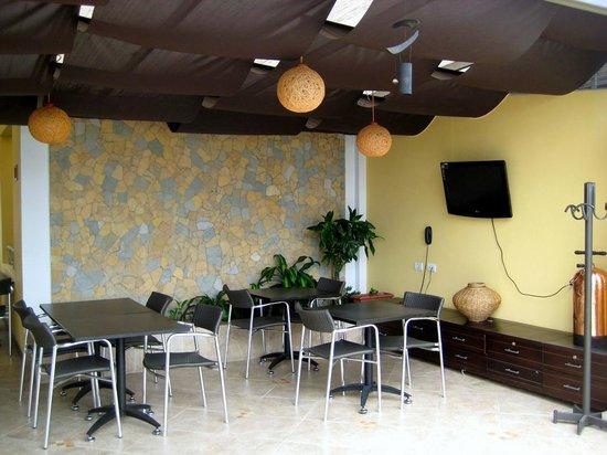 Hotel Primavera Plaza: Cafeteria