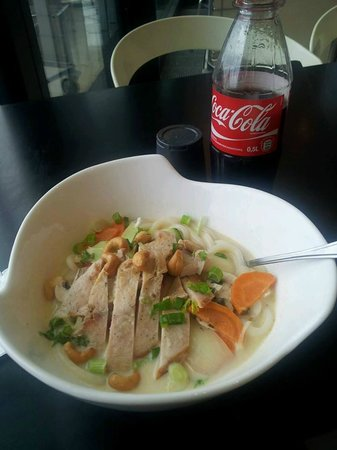 Asia Gourmet: Undon Soup/ sweet and sour yuuuummm