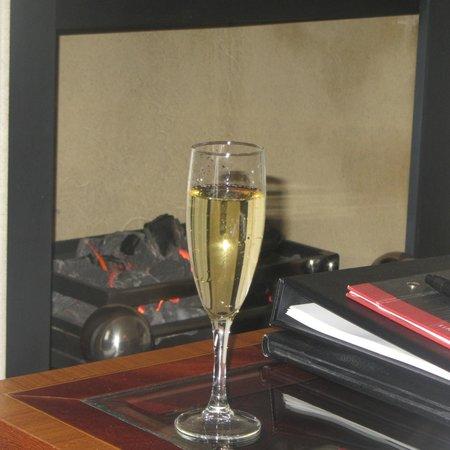 Macdonald Bath Spa Hotel: Post spa relaxation