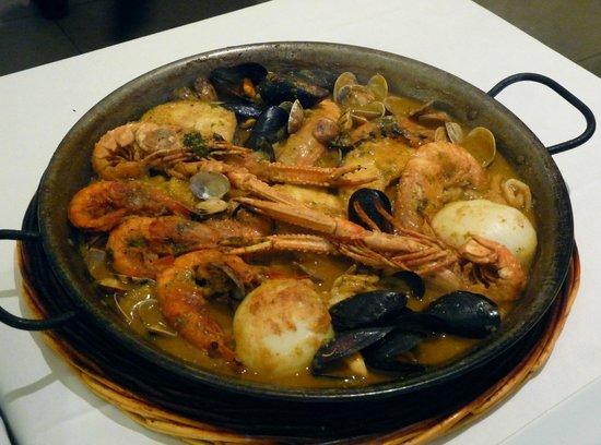 Restaurante Amar: Meeresfrüchte katalanisch