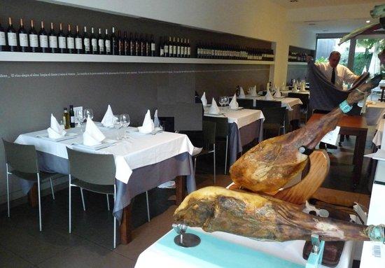Restaurante Amar: Innenraum
