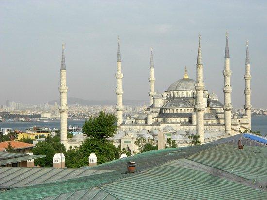 Lausos Hotel: Blick aus der Sultanahmed Suite auf Blaue Moschee