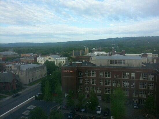 Hilton Garden Inn Ithaca : view from my room
