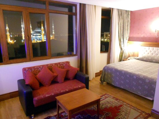 Lausos Hotel: Sultanahmed Suite mit fantastischer Aussicht