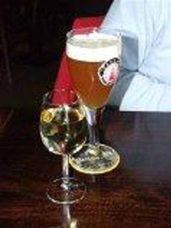 't Veerhuis Lands End : Een heerlijk Texels biertje