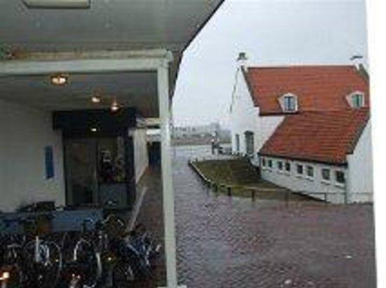 't Veerhuis Lands End : De ingang