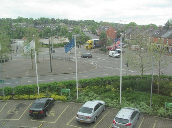 Holiday Inn Norwich City: View from Room 214