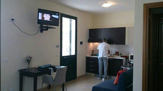 Residence Palazzo Serraino: de keuken
