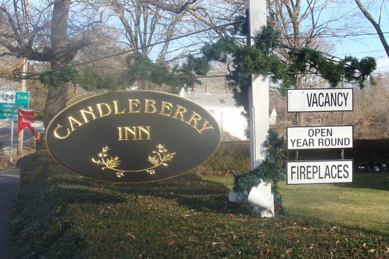Welcome Sign Picture Of Candleberry Inn On Cape Cod Brewster