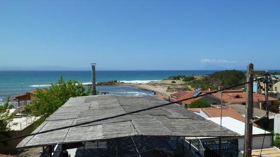 Hotel Brati II Beach: View from Balcony