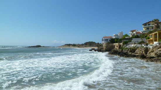 Hotel Brati II Beach: View from Restaurant