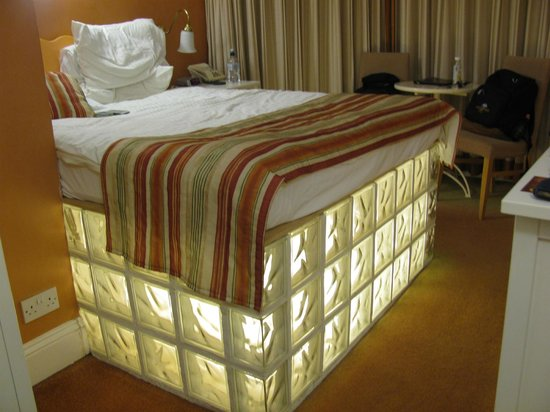 The Granville Hotel: The light-up bed stand.  Silly, but fun.